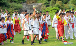 11th National Folk Sports Contest of Agricultural Workers Held