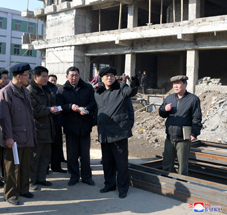 Pak Pong Ju Inspects Different Units