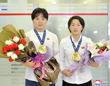 DPRK Judoists Win Two Gold Medals