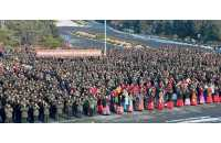 Army-People Celebration Rallies Held in Cities, Counties