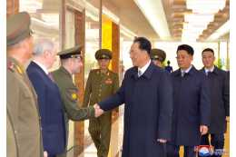 Delegation of Ministry of People's Armed Forces of DPRK Leaves for Russia